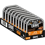 CRAVE Premium Pastete mit Truthahn & Huhn für Hunde – Getreidefreies Adult Nassfutter mit hohem Proteingehalt – 10 x 300 g