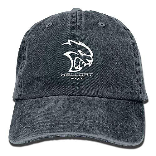 Xukmefat Dodge Hellcat SRT Unisex Baseball Cap Trucker Hat Adult Cowboy Hat Hip Hop Snapback PK3017