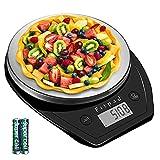 キッチンスケール Fitpad はかり 高精度 デジタルスケール 計量器 キッチンはかり 料理 クッキングスケール 0.1g単位 5kg 風袋引き ミルク水 計量 ml単位 デジタルスケール 測り キッチン 料理 お菓子