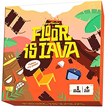 New The Floor is Lava Game for Kids Interactive Kids Games - Party Games for Kids and Family - Indoor and Outdoor Safe - Dont Step in it hot Lava Games for Kids Ages 4-8 - Kids Games Ages 8-12