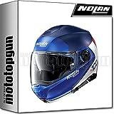 NOLAN CASCO MOTO MODULARE N100-5 PLUS DISTINCTIVE IMPERIAL BLU 029 TG. M