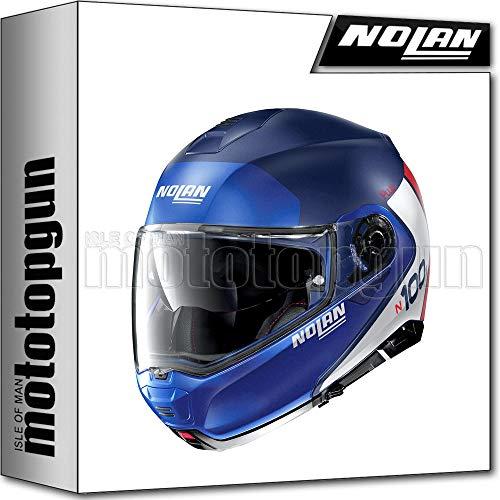 NOLAN CASCO MOTO MODULARE N100-5 PLUS DISTINCTIVE IMPERIAL AZUL 029 SZ. XXS