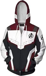 Unisex Superhero Cosplay 3D Printed Sweatshirt Costume Quantum Realm Hoodie