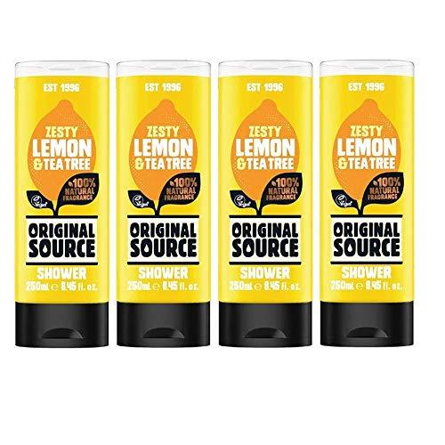 Original Source Duschgel Set 4 x 250 ml Zesty Lemon & Tea Tree