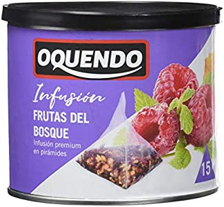 Oquendo - Infusión Frutas del Bosque - 3 de 30 gr. (Total 90 gr.)