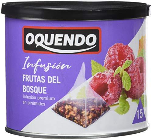 Oquendo - Infusion Frutas del Bosque - 3 de 30 gr. (Total 90 gr.)