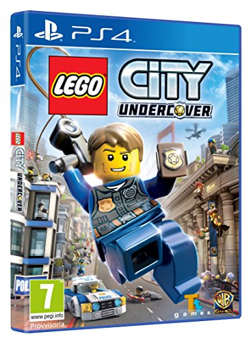 Sony LEGO City Undercover, Playstation 4 Básico PlayStation 4 Inglés vídeo - Juego (Playstation 4, PlayStation 4, Acción / Aventura, RP (Clasificación pendiente))