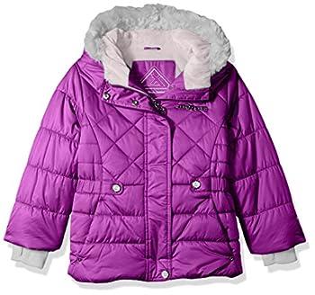 ZeroXposur Little Lexy Jvi Girls Puffer Jacket Crystal Small