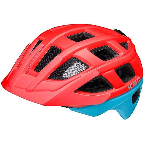 KED Kailu Helm Kinder red Blue matt Kopfumfang M   53-59cm 2021 Fahrradhelm