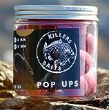 Carp Killers Pop Up Boilies Pink Peach 100g (16mm / 20mm), Durchmesser:20mm