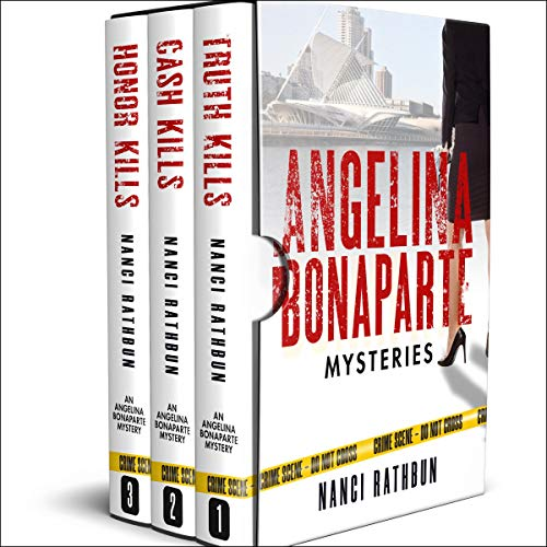 Angelina Bonaparte Mysteries Box Set: Books 1-3 cover art