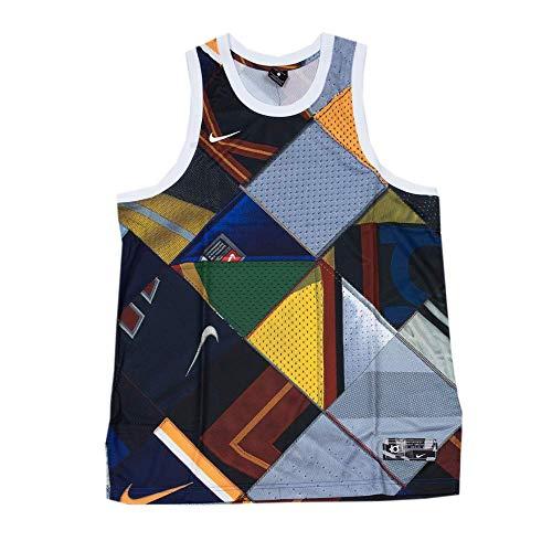 Nike Kd M Nk Tank Hyperelite Herren-T-Shirt S Rush blau/weiß/weiß