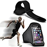 N4U Online® Samsung Galaxy Core Prime Custom Made Sports Armbands Running Bike Cycling