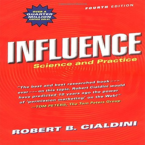 Influence: Science and Practice audiobook cover art