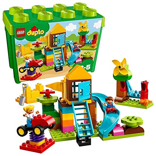 Lego Duplo 10864 Steinebox mit großem Spielplatz, Bunt