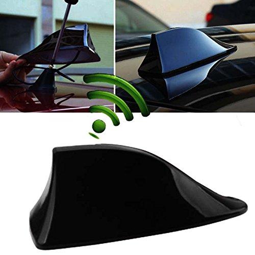 Preisvergleich Produktbild MASO Autoantenne Haifischflosse Dachantenne FM / AM Radio Signal Universal Blende schwarz