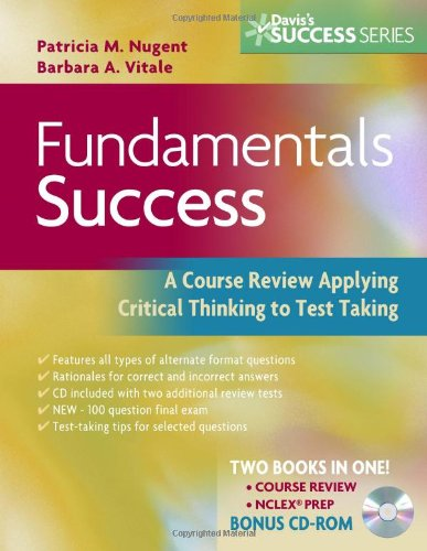 Fundamentals Success: A Course Review Applying Critical Thinking to Test Taking, Second edition (Davis's Success): Two B