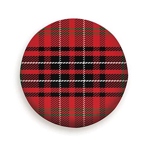 YAGEAD Cubierta del neumático Scottish Tartan Red Cubierta del neumático Camping Potable Poliéster Universal Cubiertas de Rueda de Repuesto para Remolque RV SUV Camión Remolque de Viaje Accesorios