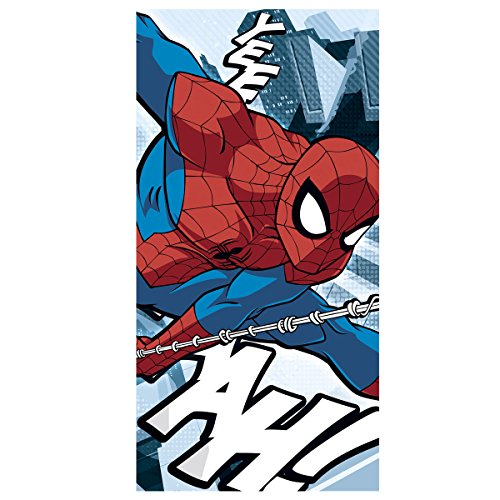 Kids Euroswan Toalla con Diseño Spider-Man