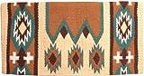 Mustang NZ Wool Laredo Saddle Blanket, Tan/Brown