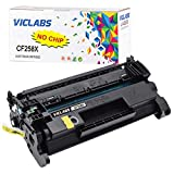 VicLabs Compatible CF258X 258A Toner Cartridge Replacement for HP 58X CF258X 58A CF258A Toner (NO CHIP) for HP Laserjet Pro MFP M428fdw M428fdn M428dw M404dn M404dw M404n M304 Printer (Black,1-Pack)