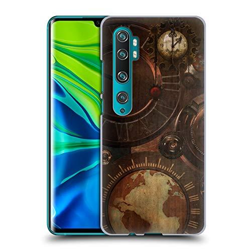 Officiële Simone Gatterwe Klokken en tandwielen Steampunk Hard Back Case Compatibel voor Mi CC9 Pro/Mi Note 10 / Pro