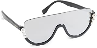 c745f9ab0fd Fendi Women s Bottom Frame Imitation Pearl Sunglasses