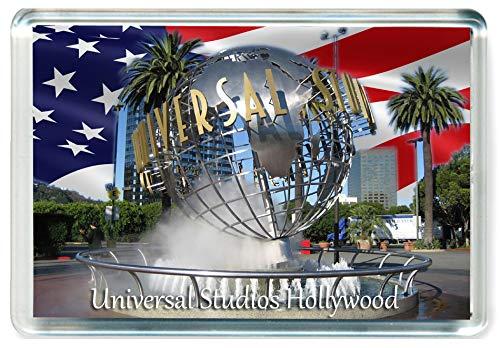 GCT J355 Universal Studios Hollywood Los Angeles Jumbo Calamita da Frigo US Stati Uniti - American Travel Fridge Magnet USA