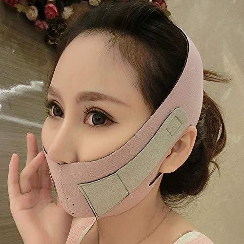 FeiGuoQiang Bandage visage mince Masque visage mince Lifting du visage Artefact Raise V Visage visage mince Outils de beauté Slim FitOutils de beauté Slim Fit (Color : B)