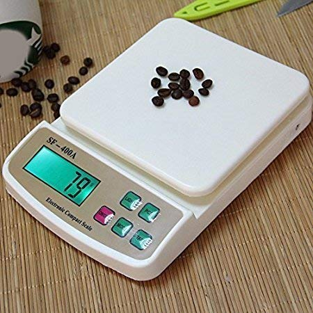 QONETIC Electronic Kitchen Digital Weighing Scale Multipurpose 10 Kg (SF-400A)