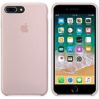 Funda para iPhone 7Plus/8Plus 5,5Inch Carcasa Silicona Suave Colores del Caramelo con Superfino Pelusa Forro, para Apple iPhone 7Plus/8Plus (Rosa Arena)