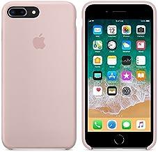 Funda para iPhone 7/8 iPhone 7Plus/8Plus Carcasa Silicona Suave Colores del Caramelo con Superfino Pelusa Forro,Anti-rasguños Teléfono Caso para Apple 7/8 7P/8P (iPhone 7Plus/8Plus, Rosa Arena)
