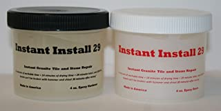 Epox-Sci`s Instant Install 29~8 oz. epoxy kit. Knife Grade. Granite, Marble, Stone, Tile, Crack/Chip Repair/Joint. Tintable with EZ-Tint 4 Tint Pack.(Sold Separately)