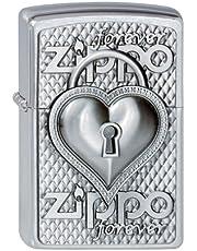 Zippo 2002732 200 - Mechero, diseño de corazón con cerradura