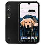 """Rugged Unlocked Phone, Blackview BV9900E Smartphone, 6GB+128GB ROM Helio P90, Android 10 Unlocked Smartphone, 48MP+16MP+ HDR Cricket Phone, Wireless Charging 5.84"""" FHD+ 4G GSM Gaming Cellphones"""