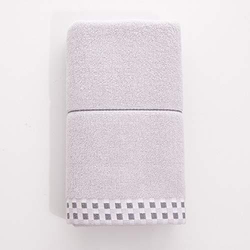 Aututer 2 Set di Asciugamano da Bagno Quadrato in Cotone da Viaggio per Lo Sport da Viaggio, Telo da Bagno Quadrato Largo ed Estensibile per Assorbimento del Sudore