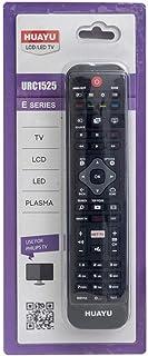 Universal para Control Remoto de reemplazo de TV Philips: Funciona con Todos los televisores Philips Control Remoto de reemplazo de TV Ideal, Funciones de TV AMBILIGHT Net