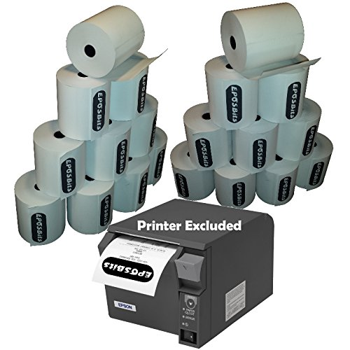 eposbits® Marke Beleg Drucker Rollen zu TM für Epson T88IV tmt70TM T70Epos Drucker?20Rollen