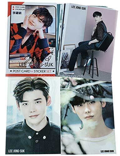 イ ジョンソク LeeJongSuk ポストカード セット ( ポストカード 12枚 + ステッカー 3枚 ) 15点セット 写真�A