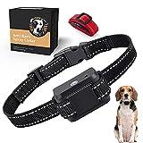 ULPEAK Hunde-Bellhalsband, Anti-Bell-Spray Halsband, Hunde-Trainingshalsband mit 2 Bändern, wiederaufladbar & Verstellbares Anti-Bell-Gerät für kleine, mittelgroße und große Hunde
