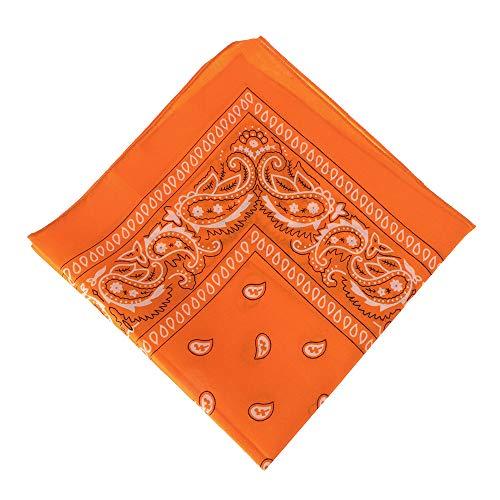 Unisex Sportbenodigdheden Hoofddeksels Zakdoek Haarband Polsband Paisley Bandana Gedrukt Vierkante Sjaals