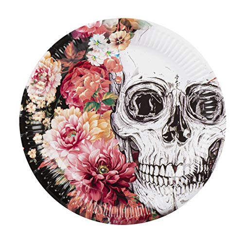 Boland BOL97076 Set da 6 Plates Day Of The Dead, 23 cm