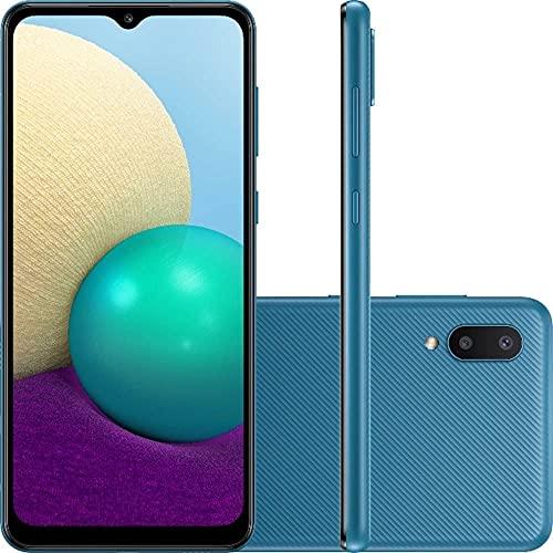 Smartphone Samsung Galaxy A02 32GB 13MP 6,5 Quad Core Azul