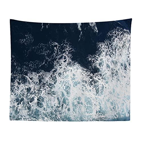 YYRAIN Tela Decorativa De Estilo Europeo De Playa Tapiz De Tela Colgante Decoración De Pared De Playa Tapiz De Fondo De Pared 73x95cm B
