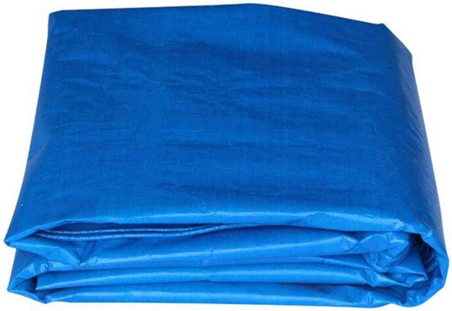 ATR Tent Tarps blueee PE Plastic Woven Parasol tarp Waterproof and Rainproof Sunscreen Tent Cloth 160g   m\ 0.28mm for The Outside Area