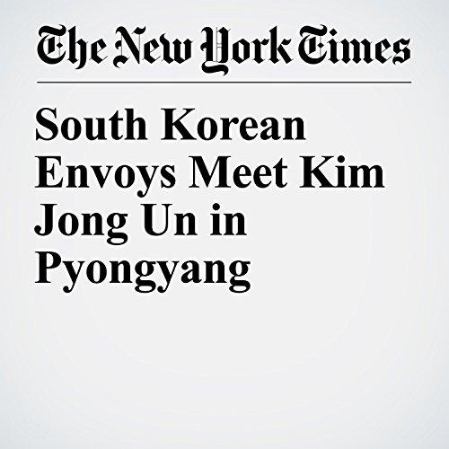 South Korean Envoys Meet Kim Jong Un in Pyongyang copertina