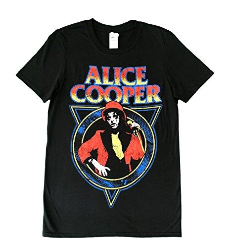 Alice Cooper - Snake Skin Herren Unisex T-Shirt schwarz - M