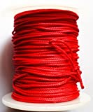 GPP Red Bow Fishing Line (165ft/50m Spool 200-pounds,Dia 1.2mm)