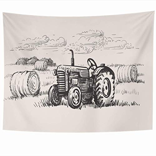 N\A Cushion Cover, Chair Cushion Covers Body Pillow Covers Happy Weekend Greeting Card Poster Print Quote Paint Strokes Garland Couch Cushion Covers