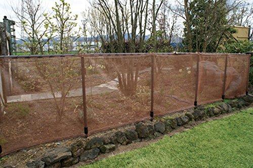 DAIM 単管パイプ ガーデンアグリパイプ φ33mm 1m×2本セット・ジョイント付き☆単管パイプ 軽くて丈夫 おしゃれな単管パイプ 畑の囲い、果樹棚、防獣、鳥よけ、風よけ用の支柱に (2m)